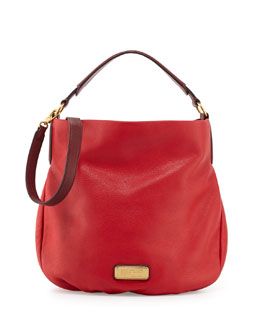 MARC by Marc Jacobs New Q Hillier Hobo, Rosey Red