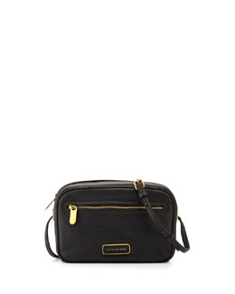 MARC by Marc Jacobs Sally Leather Crossbody Bag, Black