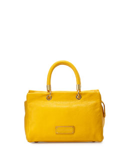 MARC by Marc Jacobs Too Hot To Handle Satchel Bag, Yellow Jacket