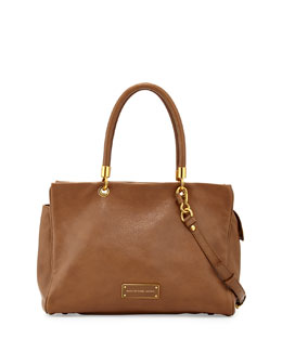 MARC by Marc Jacobs Too Hot to Handle Leather Tote Bag, Praline