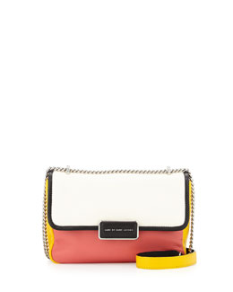 MARC by Marc Jacobs Rebel 24 Colorblock Crossbody Bag, White Birch Multi
