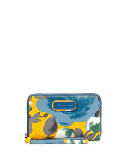 MARC by Marc Jacobs Sophisticato Jerrie Rose Wristlet, Yellow Jacket