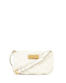 MARC by Marc Jacobs New Q Quilted Percy Crossbody Bag, Leche