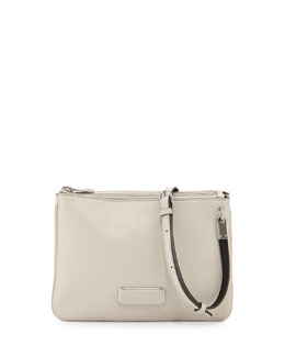 MARC by Marc Jacobs Ligero Double Percy Crossbody Bag, Tumbleweed Beige