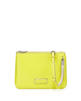 MARC by Marc Jacobs Ligero Double Percy Crossbody Bag, Zest
