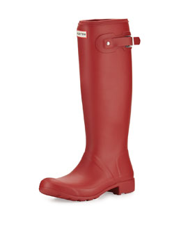 Hunter Boot Original Tour Welly Boot, Military Red