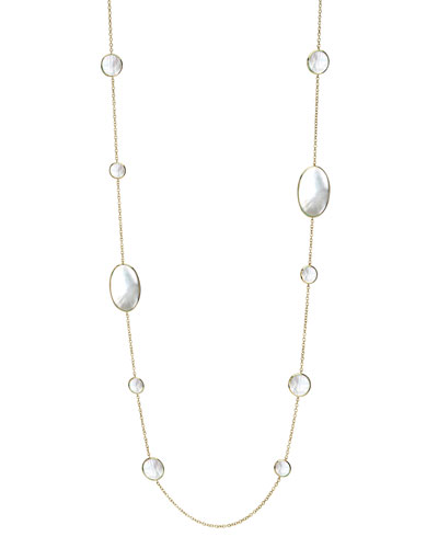 Mother-of-Pearl Chain Necklace
