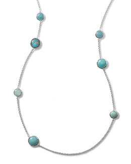 Ippolita Wonderland Turquoise Station Necklace