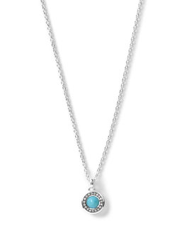 Ippolita Silver Mini Lollipop Diamond Pendant Necklace