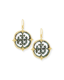 Armenta Sueño Artifact Medallion Earrings