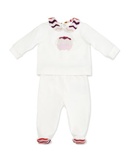 Missoni 2-Piece Lamb Tee & Pant Set, 0-9 Months