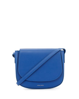 Mansur Gavriel Calf Leather Crossbody Saddle Bag