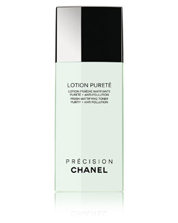 CHANEL <b>LOTION PURETÉ</b><br>Fresh Mattifying Toner Purity + Anti-Pollution 6.8 oz.