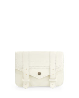PS1 Large Chain Wallet, White