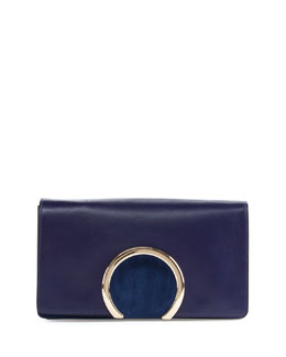 Chloe Gabrielle Leather Clutch Bag