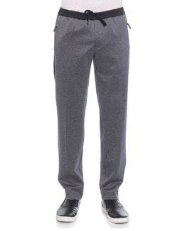 Dolce & Gabbana Jogging Pants with Zip Pockets