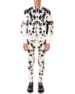 Givenchy Baby's Breath Printed Bomber Jacket, Shirt & Slim Trousers