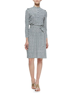 Tory Burch Camp Jersey Shirtdress