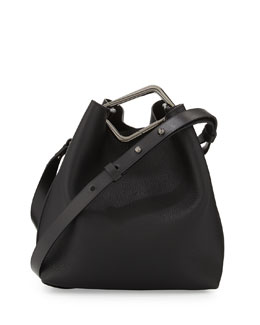 3.1 Phillip Lim Quill Mini Bucket Bag, Black