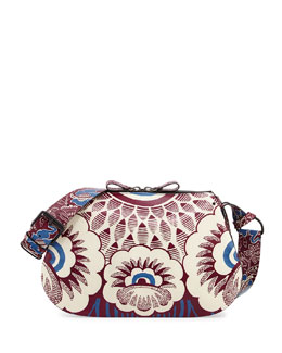 Valentino Printed Hobo Bag