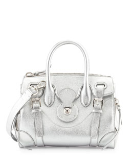 Ralph Lauren Soft Ricky 27 Satchel Bag
