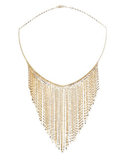 Lana 14k Gold Fringe Choker Necklace