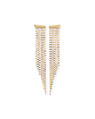 14k Gold Elite Fringe Duster Earrings