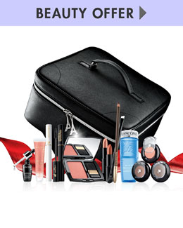Lancome Yours for only $59.50 with any Lancome purchase—a $304 value