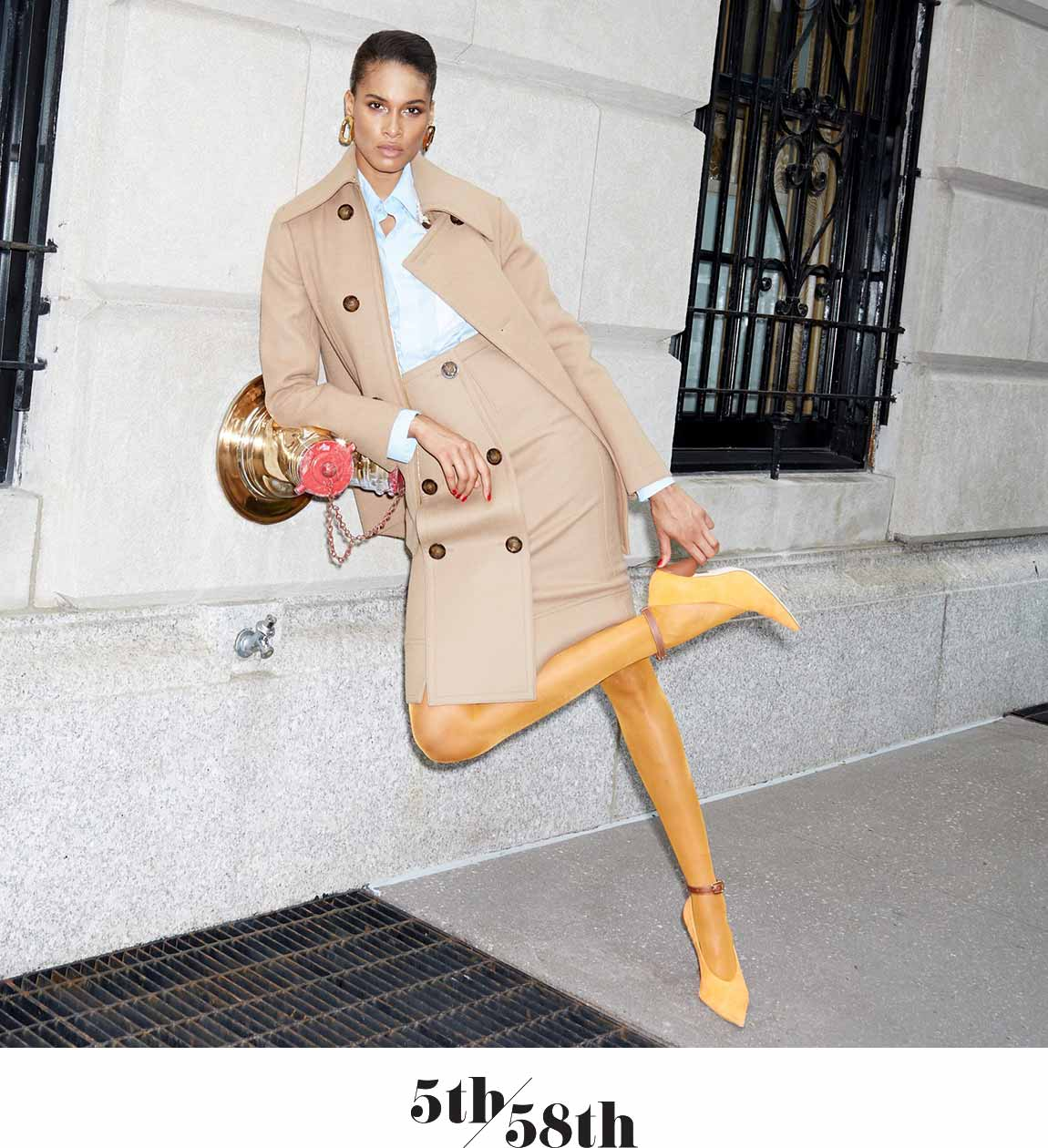 Only BG: Cindy Bruna Hits Park Avenue In Our Fall 2019 Exclusives