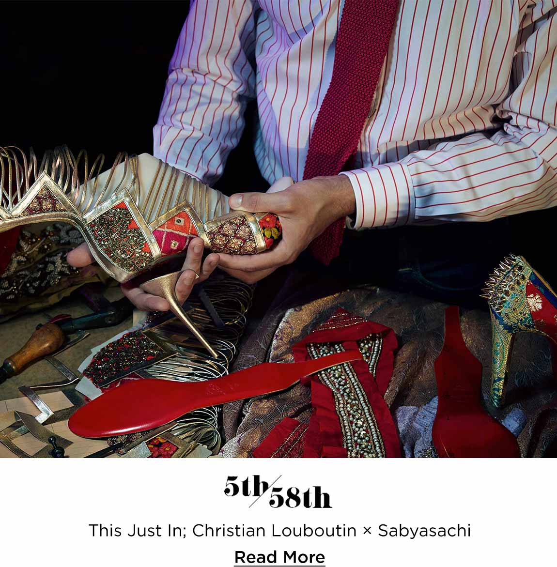 This Just In: Christian Louboutin x Sabyasachi