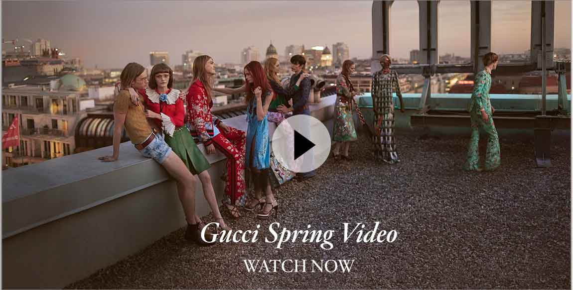 Gucci Spring Video