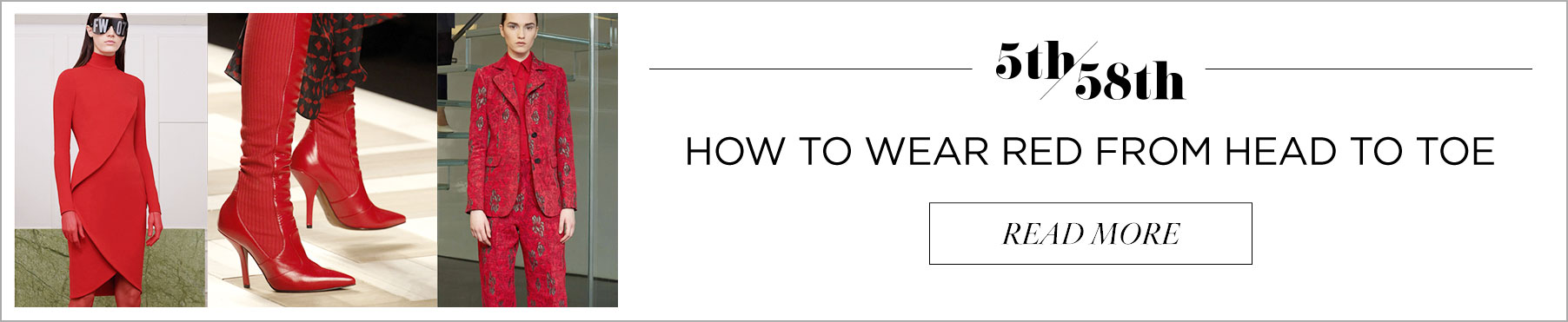 How To Wear Red From Head To Toe
