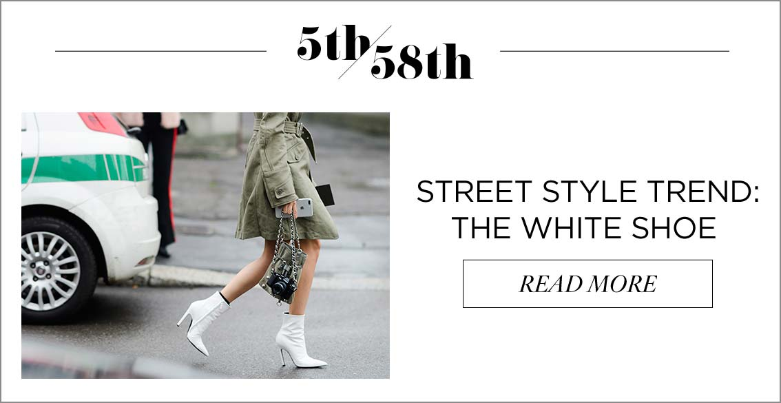 Street Style Trend: The White Shoe