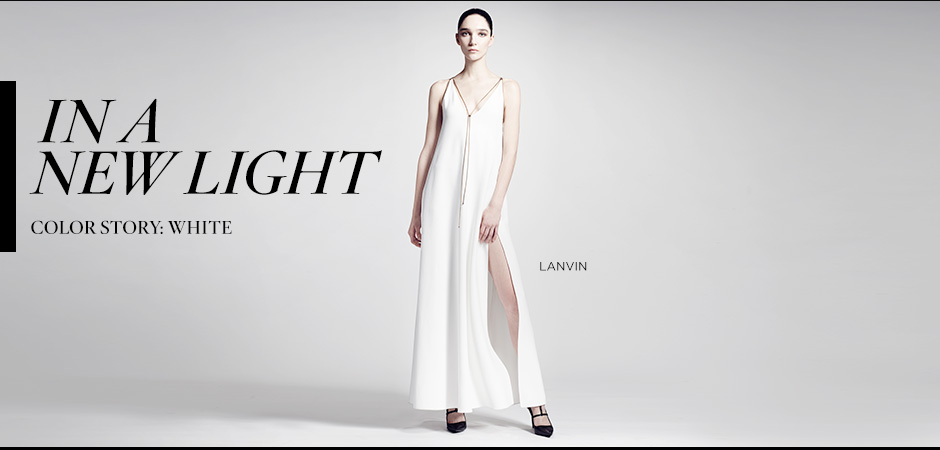 Color Story White: Lanvin