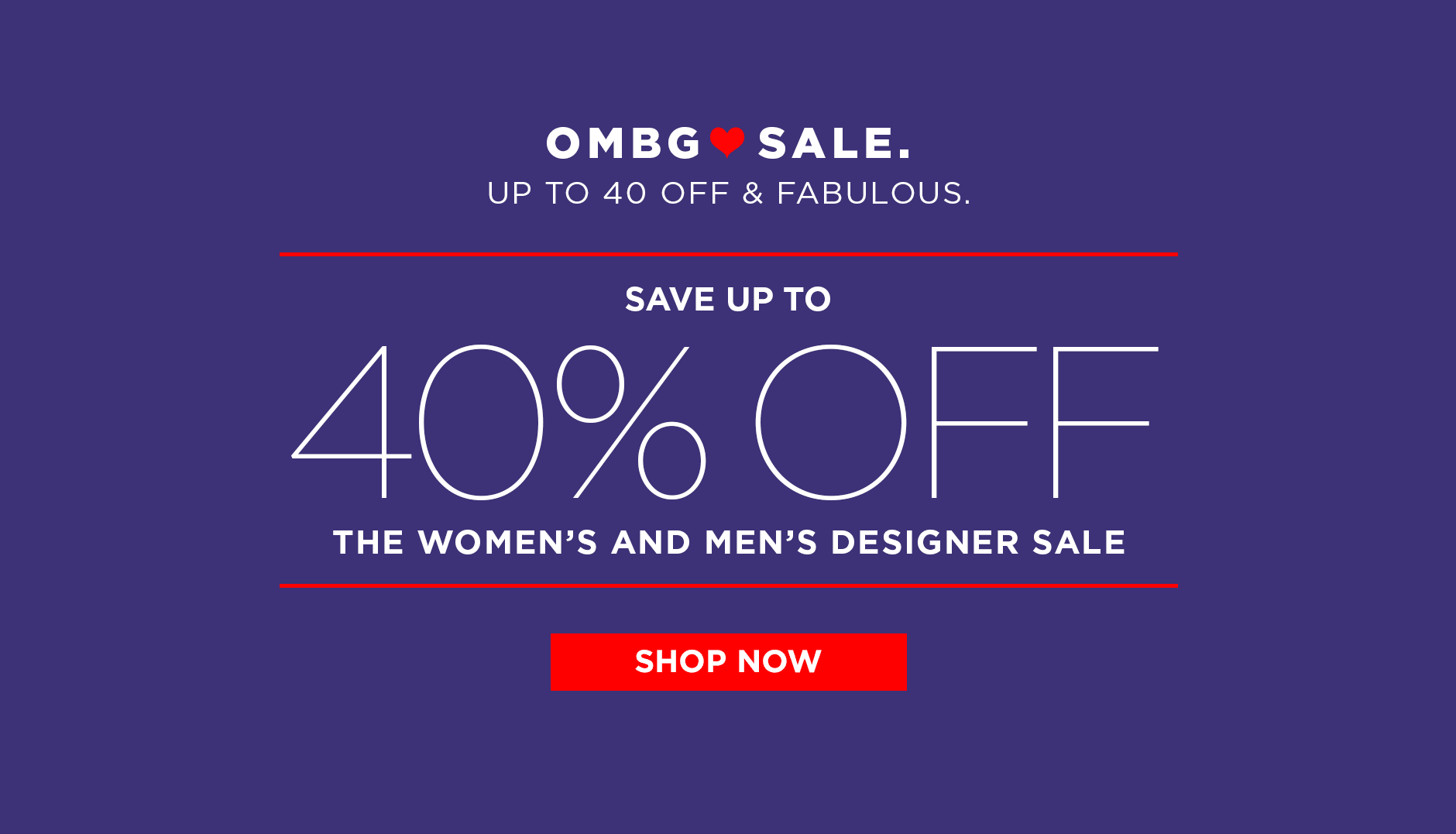 The Women's and Men's Designer Sale