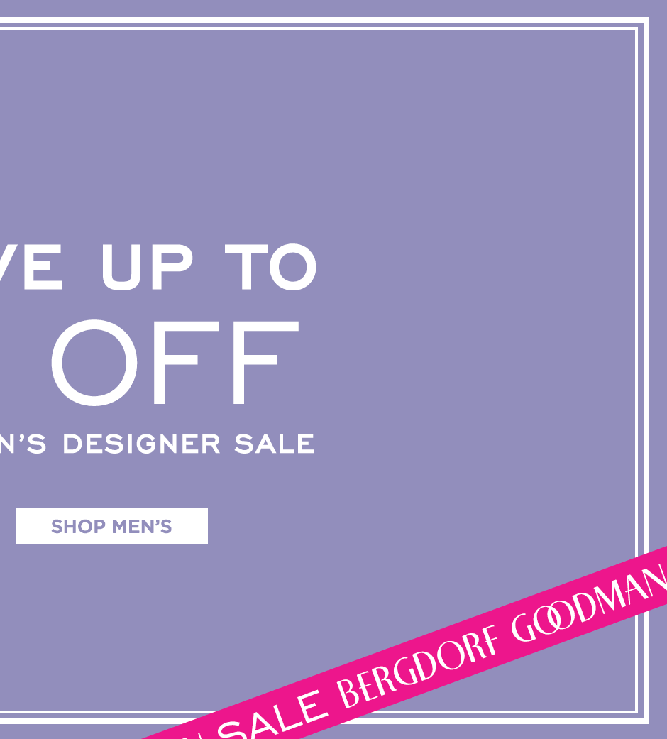 Shop Men's Designer Sale
