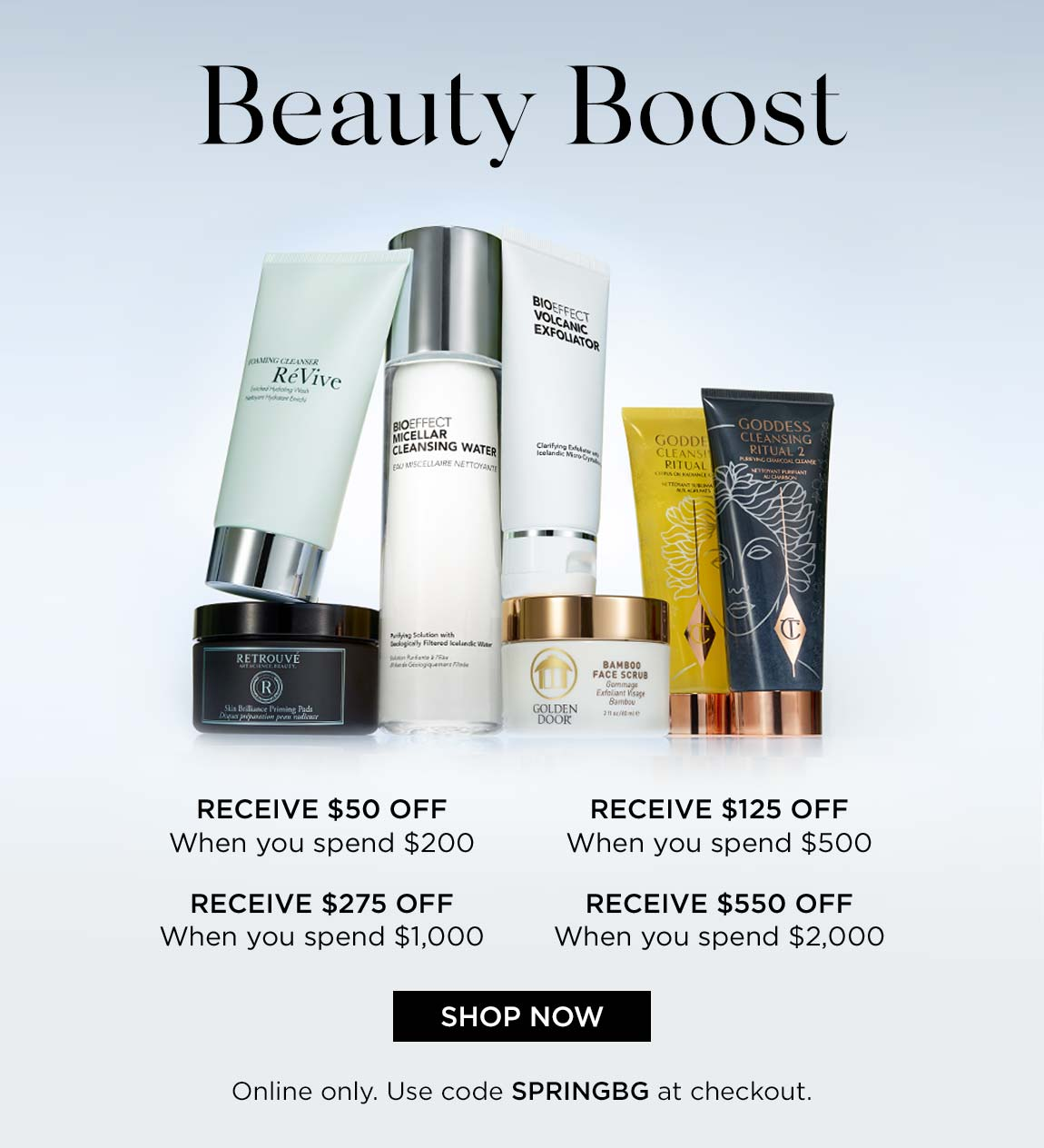 Beauty Boost Event