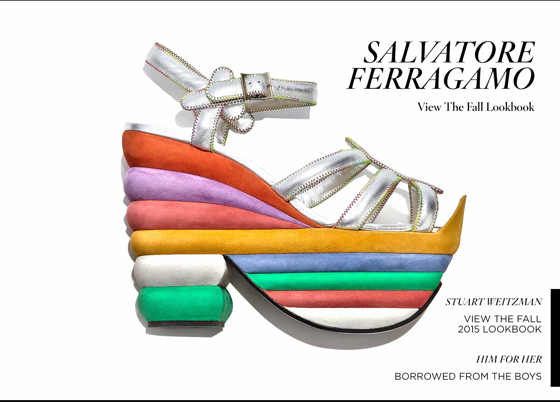 Salvatore Ferragamo Lookbook