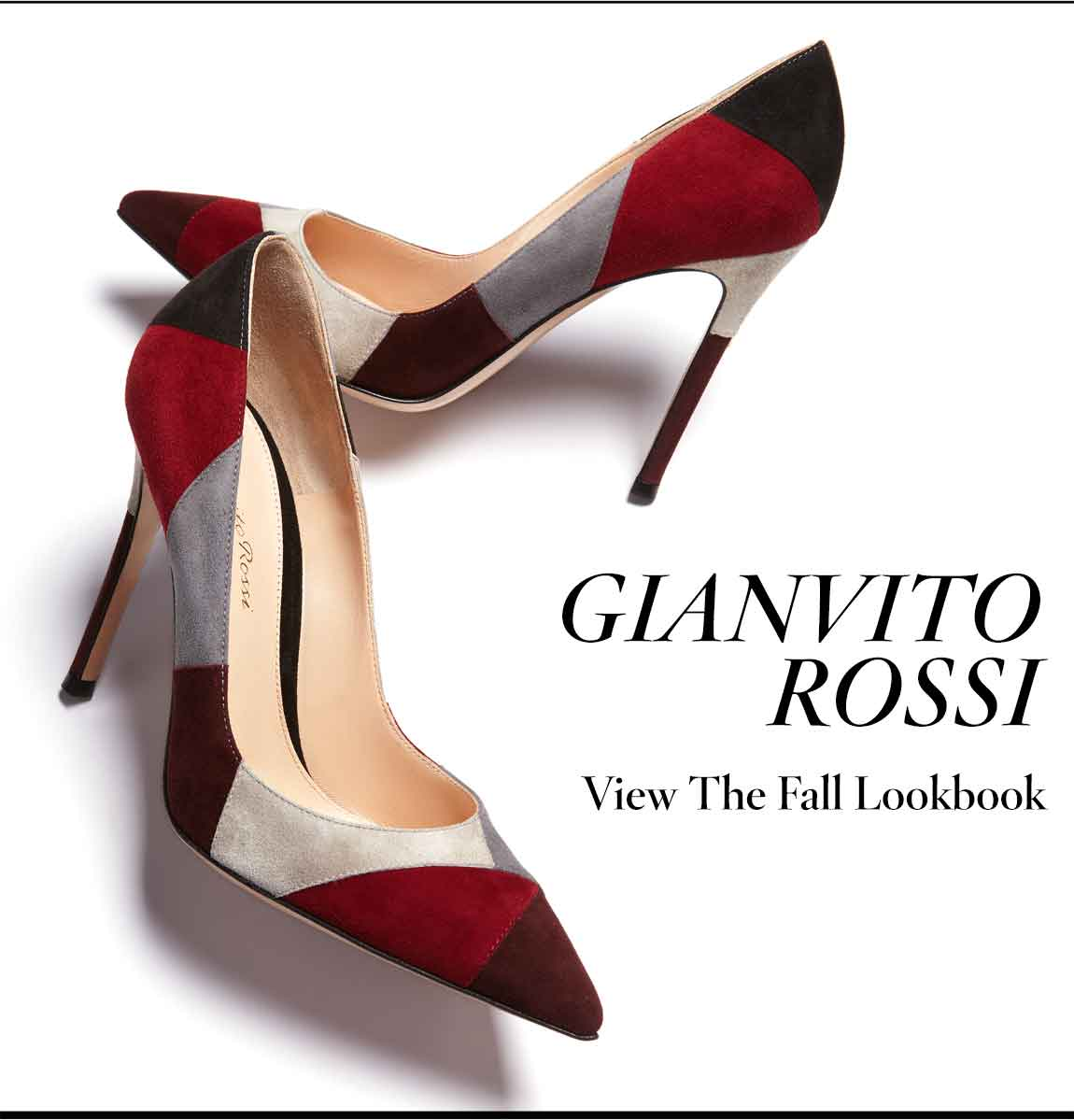 Gianvito Rossi Lookbook