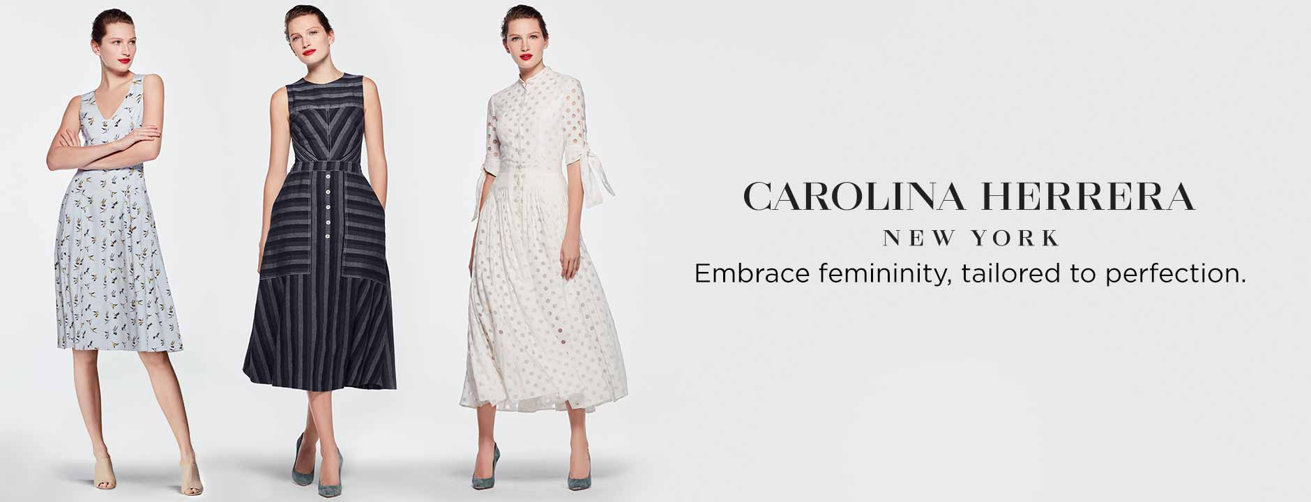 Carolina Herrera Clothing : Dresses & Gowns at Bergdorf Goodman