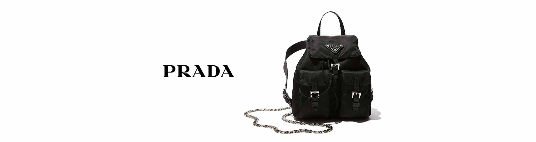 prada dark brown leather handbag - prada backpack blue