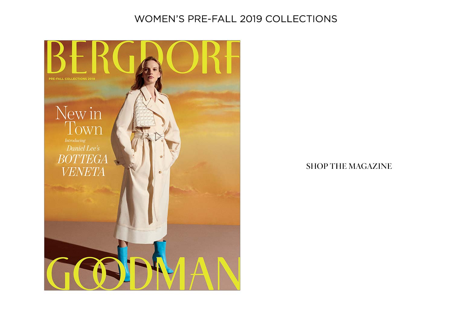 BG Fashion Magazines at Bergdorf Goodman