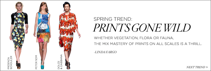 Prints Gone Wild, Shop the Trend