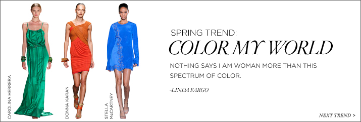 Shop the Color My World Trend