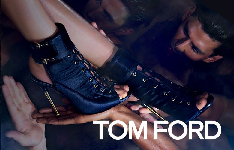 Tom Ford's triumphant return to fashion communicates a simple message: Ironic women in ironic clothes. Julia Reston Roitfeld slips into Ford's high-glam