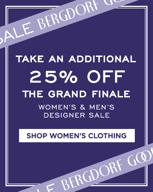 Extra 25% Off Grand Finale Sale - Women's Clothing