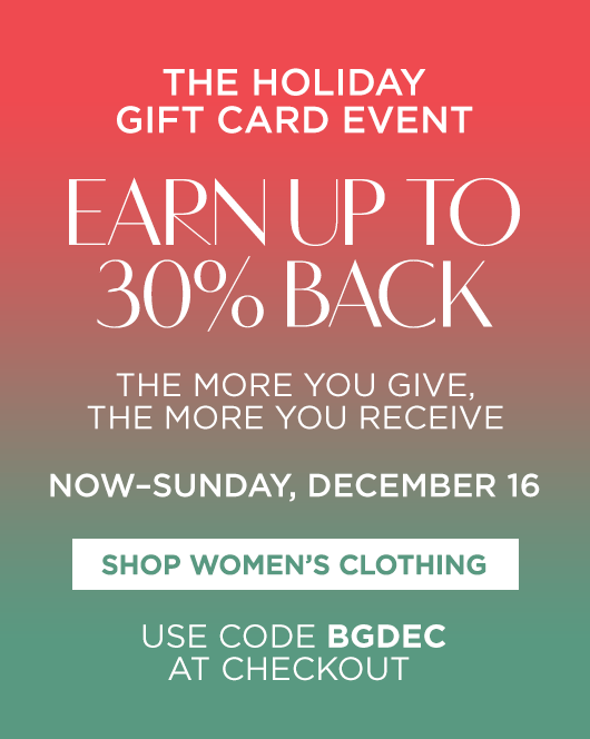 The Holiday Gift Card Event - Designer Collections