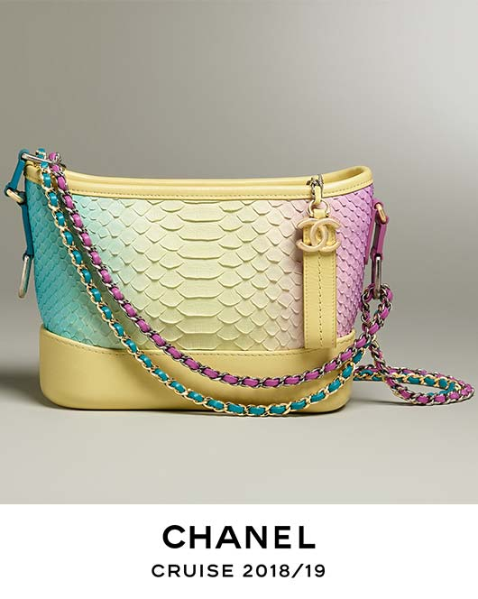 Chanel Cruise 2018/19 Accessories