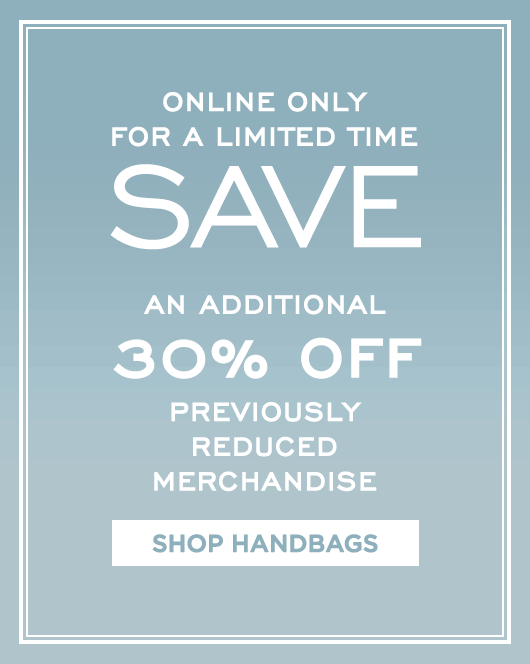 Additional 30% Off Sale - Handbags