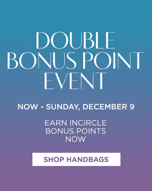 The Double Bonus Points Event